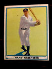 Hank Greenberg Cards, Rookie Cards and Autographed Memorabilia Guide 6