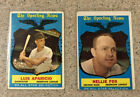 Nellie Fox Cards and Autographed Memorabilia Guide 17