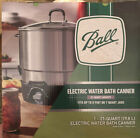 Ball FreshTech Electric Water Bath Canner 21 Quart 198L Capacity New
