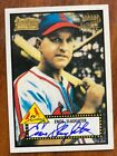 Enos Slaughter 2001 Topps Team Legends Auto
