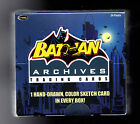 Batman Archives sealed Hobby Box Trading cards 1 color sketch Rittenhouse