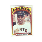 Vintage Willie Mays Baseball Card Timeline: 1951-1974 125