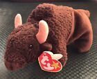 1998 Ty Beanie Baby ROAM the Buffalo DOB September 27, 1998  Error Tag