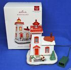 Hallmark Magic Cord Ornament Holiday Lighthouse #7 2018 Santa Polar Bear Hockey
