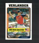 Justin Verlander Cards, Rookie Cards and Autograph Memorabilia Guide 40