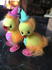 Vintage Easter  Party Chicks Colorful Japan