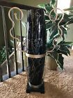 Austin Productions Extra Large 33 Tall CAPRATA Vase w Stand  Base Excellent