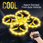 RC Mini Quadcopter Induction Drone Smart Watch Remote Hand Control Drone