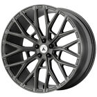 4 Asanti ABL 21 Leo 22x9 5x112 +32mm Gunmetal Wheels Rims 22 Inch