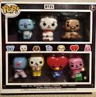 NEW Funko POP! BT21 7 Pack BTS Barnes & Noble Exclusive Sealed FREE SHIPPING