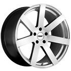 4 TSW Bardo 20x85 5x112 +35mm Hyper Silver Wheels Rims