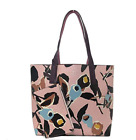 Kate Spade Arch Paper Rose Reversible Leather Tote With Mini Zip Pouch Floral