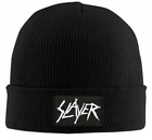 Slayer Scratchy Logo Auto Sport Car Cuffed Plain cap