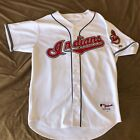 MAJESTIC AUTHENTIC SZ 48 GRADY SIZEMORE CLEVELAND INDIANS JERSEY