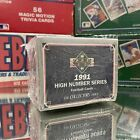 1991 Upper Deck NFL Football Cards High Number Series Box Sealed 200 Cards