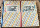 VTG 1946 ALICES ADVENTURES IN WONDERLAND  THROUGH THE LOOKING GLASS Book Set