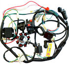 Full Electric Wiring Harness Loom CDI Coil Relay for 150 200 250cc ATV Quad Bike