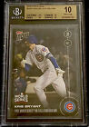 BGS 10 Pristine 2016 Topps Now World Series #646A Kris Bryant - Not A Psa 10