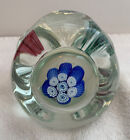 Fratelli Toso paperweight Murano Glass Italy RARE SHAPE AND SIZE