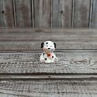 RARE 1991 HALLMARK MERRY MINIATURE DALMATION PUPPY DOG WITH RED HEART ORNAMENT
