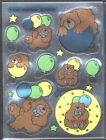 1984 Root Beer Bear Trend Scratch  Sniff Sticker SHEET Shiny Brights FoilT 1366