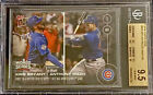 Bgs 9.5 Gem Mint 2016 Topps Now #655 Bryant & Rizzo 10,9.5,9.5,9.5 not a Psa 10