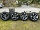 """Genuine Land Rover Discovery 5 Alloy Wheels   21"""" Inch   Style 5085   Satin Grey"""