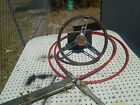 Morse Rack and pinion boat steering asbly w 180 steering cable  steering wheel