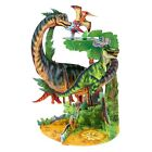 Pendulum Card 3D Pop Up Greeting Card Dinosaurs for Kids for Him Birth