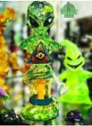 HEADY ART GLASS American Made Ghost Rollerghoster recycler tobacco water pipe