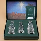 Waterford Marquis Nativity 3 Piece Wise Men In Box Retired