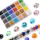 LABOTA 6mm Wholesale Briolette Faceted Crystal Glass Beads for Jewelry Making