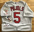 Majestic Authentic Collection St. Louis Cardinals Jersey Albert Pujols 2011 WS