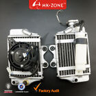 Water Engine Cooling Radiator w Fan for 150 200 250cc zongshen lifan ATV gokart