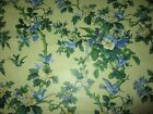 Piccadilly Garden Yellow Birds Hand Print Cotton Chintz fabric MSRP 200 Yd