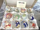NIB 12 Days Of Christmas Ornaments Handpainted In Italy Exclusive For Dillards