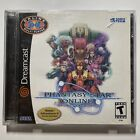 Phantasy Star Online Sega Dreamcast Complete w Sonic Demo Disc Super Clean Disc