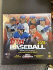 2015 Topps Chrome Update Baseball EXCLUSIVE Factory Sealed MEGA Box-Loaded QTY