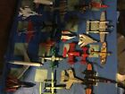Lot of 18 Diecast Planes Matchbox Hot Wheels Airplanes Military Airlines