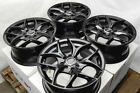 15 Wheels Fit Honda Accord Civic Accent Sonata Cooper Jetta 4 Lug Black Rims