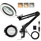 LANCOSC Magnifying Glass with Light and Stand 3 Color Modes Stepless Dimmable