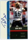 Top Drew Brees Rookie Cards to Collect 47