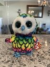 """TY BEANIE BOO CLAIRE'S EXCLUSIVE ARIA THE OWL RARE MINT WITH TAGS 6"""""""