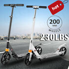 Kick Scooter Foldable Scooter For Adult Kids Portable Ride Adjustable Height