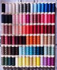 90 NEW Different colors GUTERMANN 100 polyester sew all thread 110 yd spools