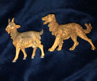 vintage fontanini nativity set 1983 of 2 Standing Goat And The Dog