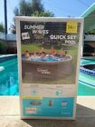 Summer Waves 14 x 36 Quick Set Above Ground Swimming Pool w Filter Pump