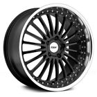TSW SILVERSTONE Wheels 20x85 40 5x1143 761 Black Rims Set of 4