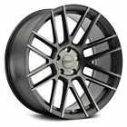 TSW MOSPORT Wheels 20x85 40 5x1143 761 Black Rims Set of 4