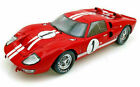 1966 FORD GT 40 MK II 1 RED 118 DIECAST MODEL CAR SHELBY COLLECTIBLES SC407
